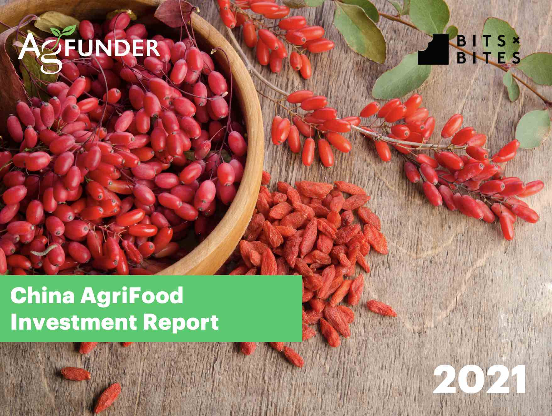 China 2021 AgriFood Startup Investment Report