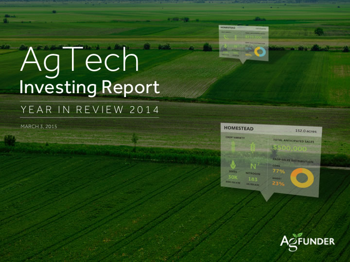 AgTech Investing Report - 2014
